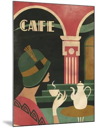 Art Deco Cafe-Martin Wickstrom-Mounted Giclee Print