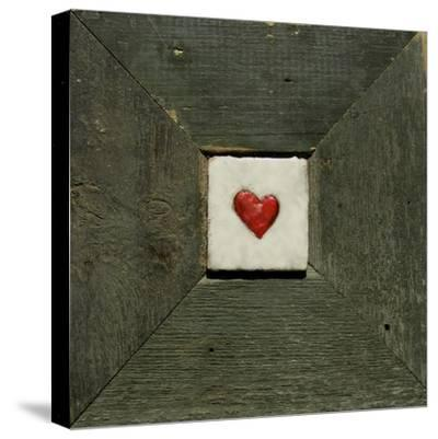 Hearts' Desire Green-lovISart-Stretched Canvas Print