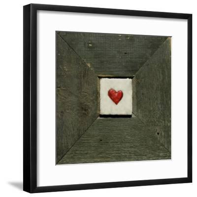 Hearts' Desire Green-lovISart-Framed Giclee Print