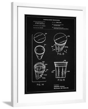 PP904-Vintage Black Keurig Cartridge Coffee Patent Poster-Cole Borders-Framed Giclee Print