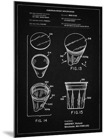 PP904-Vintage Black Keurig Cartridge Coffee Patent Poster-Cole Borders-Mounted Giclee Print