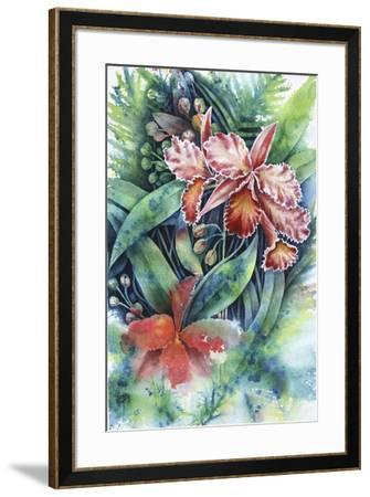 Red Orchid-Michelle Faber-Framed Giclee Print