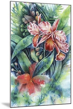 Red Orchid-Michelle Faber-Mounted Giclee Print