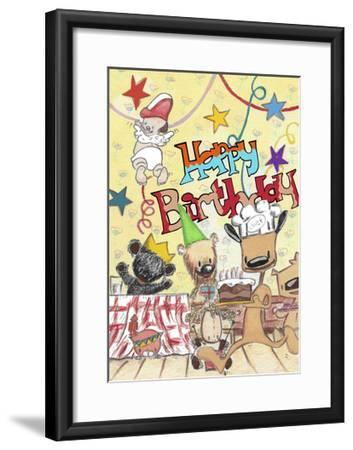 Happy Birthday 2-Miguel Balb?s-Framed Giclee Print