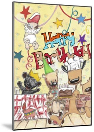 Happy Birthday 2-Miguel Balb?s-Mounted Giclee Print
