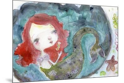 Serenity Mermaid-Mindy Lacefield-Mounted Giclee Print