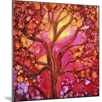 Sunset Tree-Michelle McCullough-Mounted Giclee Print