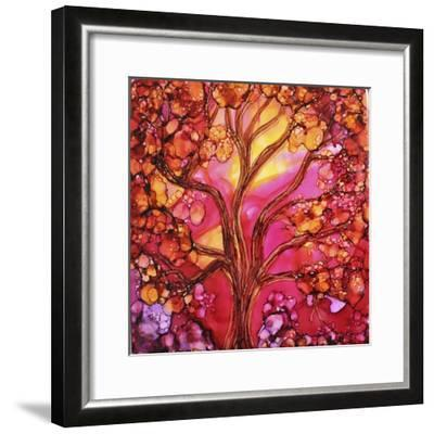 Sunset Tree-Michelle McCullough-Framed Giclee Print
