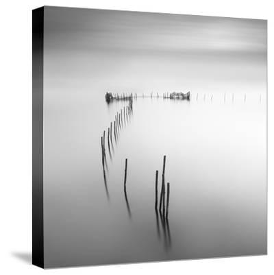 Lines 4-Moises Levy-Stretched Canvas Print