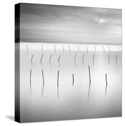 Lines 1-Moises Levy-Stretched Canvas Print
