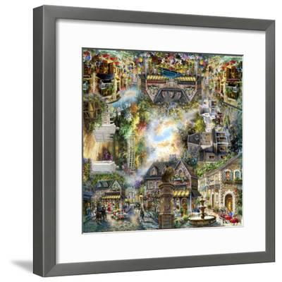 Taking it to the Streets-Nicky Boehme-Framed Giclee Print