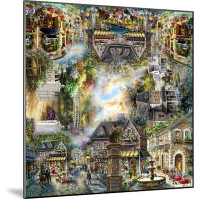 Taking it to the Streets-Nicky Boehme-Mounted Giclee Print