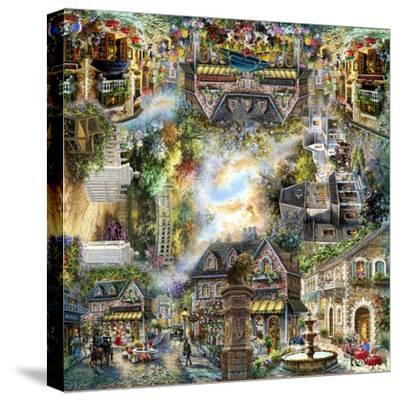 Taking it to the Streets-Nicky Boehme-Stretched Canvas Print