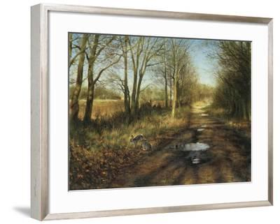APRIL-Rien Poortvliet-Framed Giclee Print