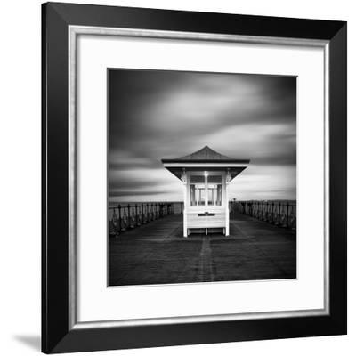 Swanage Pier-Rob Cherry-Framed Giclee Print