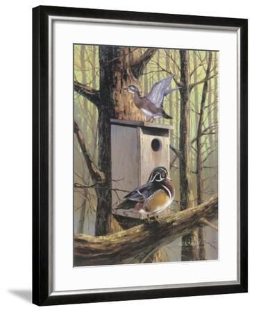 Room With A View-R.J. McDonald-Framed Giclee Print