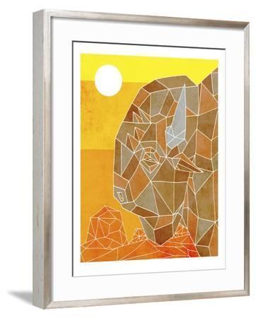 Old West-Ric Stultz-Framed Giclee Print