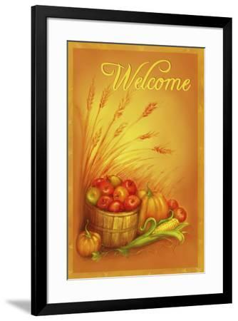 Apple Welcome-Patricia Dymer-Framed Giclee Print