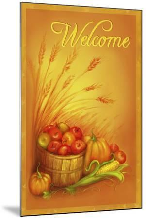 Apple Welcome-Patricia Dymer-Mounted Giclee Print