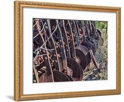 Farm Rust-Randy Waln-Framed Giclee Print
