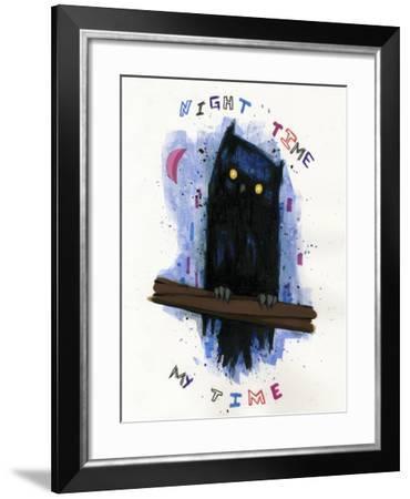 Night Time My Time-Ric Stultz-Framed Giclee Print