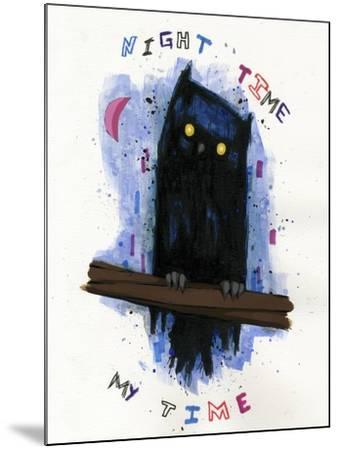 Night Time My Time-Ric Stultz-Mounted Giclee Print