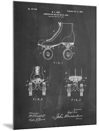 PP1019-Chalkboard Roller Skate 1899 Patent Poster-Cole Borders-Mounted Giclee Print