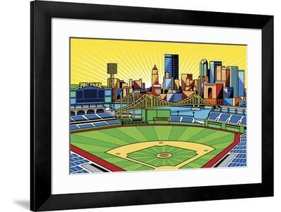 PNC Park Pittsburgh Giclee Print by Ron Magnes   Art com