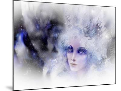 Snow Queen-RUNA-Mounted Giclee Print