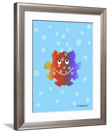 Nursery Fish-Sartoris ART-Framed Giclee Print