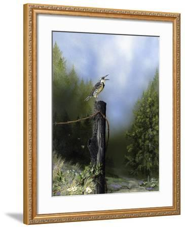EarlyMorningSong16x20-Russell Bentley-Framed Giclee Print
