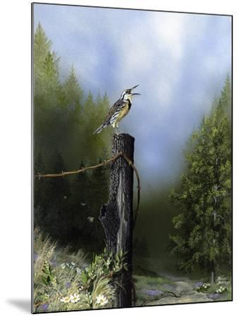 EarlyMorningSong16x20-Russell Bentley-Mounted Giclee Print
