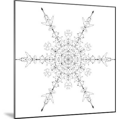 Snowflake 19-RUNA-Mounted Giclee Print