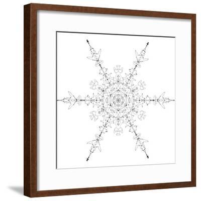 Snowflake 19-RUNA-Framed Giclee Print