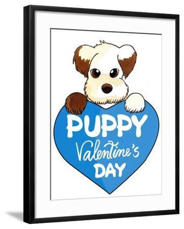 Puppy-8-Abraal-Framed Giclee Print