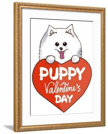 Puppy-7-Abraal-Framed Giclee Print