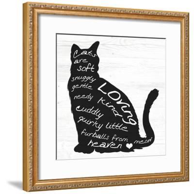 Cat-ALI Chris-Framed Giclee Print
