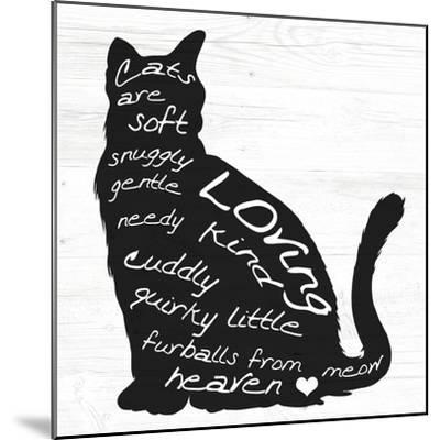 Cat-ALI Chris-Mounted Giclee Print