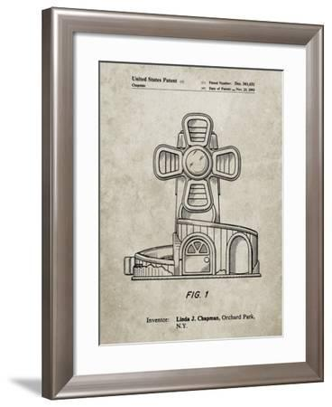 PP1108-Sandstone Toy Windmill Poster-Cole Borders-Framed Giclee Print