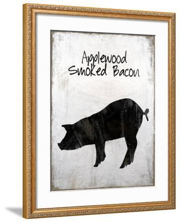 Applewood Smoked Bacon-Tina Lavoie-Framed Giclee Print