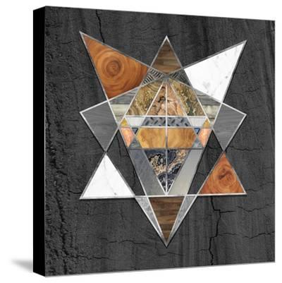 Rustic Geometry I-Tina Lavoie-Stretched Canvas Print