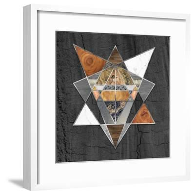 Rustic Geometry I-Tina Lavoie-Framed Giclee Print