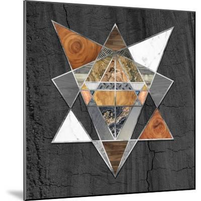 Rustic Geometry I-Tina Lavoie-Mounted Giclee Print