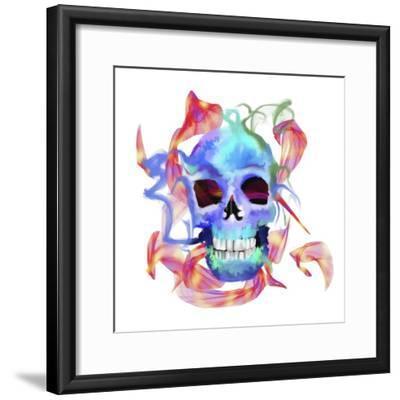 Skull-Stephanie Analah-Framed Giclee Print