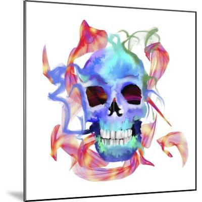 Skull-Stephanie Analah-Mounted Giclee Print