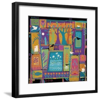 Day Dreaming-Sue Davis-Framed Giclee Print