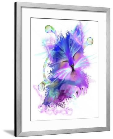 Kitty 5-Stephanie Analah-Framed Giclee Print