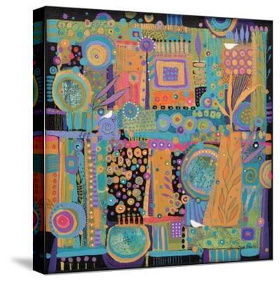 Happy Dance-Sue Davis-Stretched Canvas Print