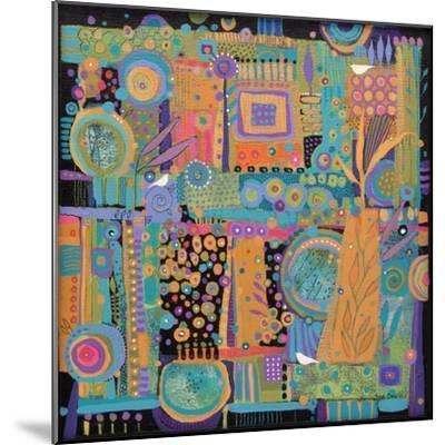 Happy Dance-Sue Davis-Mounted Giclee Print