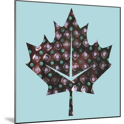 Maple Leaf-Summer Tali Hilty-Mounted Giclee Print